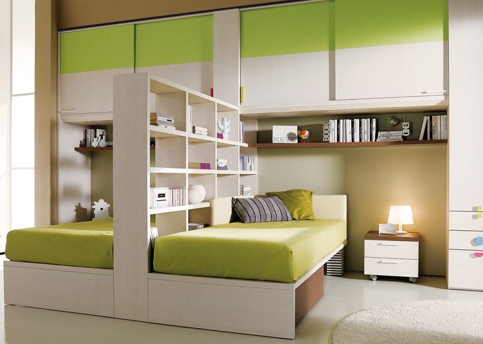 ponte, letti con libreria - Nuovo spazio nella cameretta a ponte ...